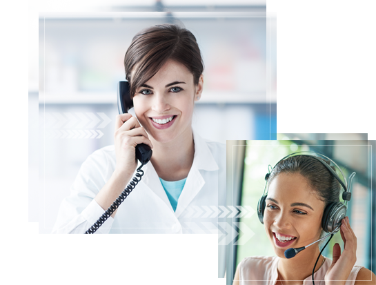Physicians Answering Service Women Answering Phones